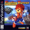 Floating Runner - Quest for the 7 Crystals Sony PlayStation cover artwork