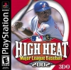 High Heat Major League Baseball 2002 Sony PlayStation cover artwork