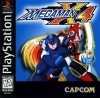 Mega Man X4 Sony PlayStation cover artwork