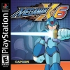 Mega Man X6 Sony PlayStation cover artwork
