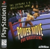 Power Move Pro Wrestling Sony PlayStation cover artwork