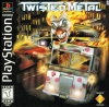 Twisted Metal Sony PlayStation cover artwork