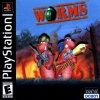 Worms Sony PlayStation cover artwork