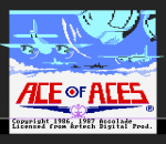 Ace of Aces title screenshot
