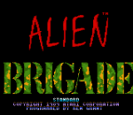 Alien Brigade title screenshot