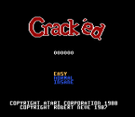 Crack'ed title screenshot