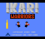Ikari Warriors title screenshot