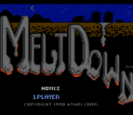Meltdown title screenshot