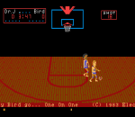 One-on-One Basketball title screenshot