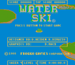 Water Ski title screenshot