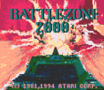 Battlezone 2000 title screenshot