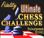 Fidelity Ultimate Chess Challenge title screenshot