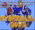 Tournament Cyberball title screenshot