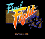 Final Fight title screenshot