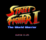 Street Fighter 2 - The World Warrior title screenshot
