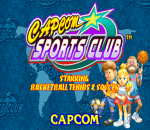 Capcom Sports Club title screenshot
