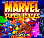 Marvel Super Heroes title screenshot