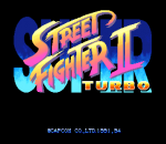 Super Street Fighter II Turbo title screenshot
