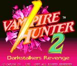 Vampire Hunter 2 : Darkstalkers Revenge title screenshot