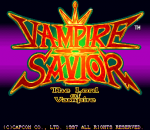 Vampire Savior : The Lord of Vampire title screenshot