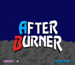 After Burner title screenshot