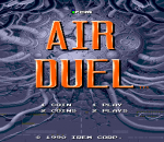Air Duel title screenshot
