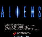 Aliens title screenshot