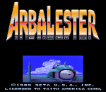 Arbalester title screenshot