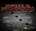 Battle Bakraid : Unlimited Version title screenshot