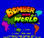Bomber Man World title screenshot