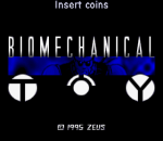 Biomechanical Toy title screenshot