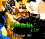 Blomby Car title screenshot