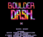Boulder Dash title screenshot