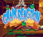 Magical Drop : Chain Reaction title screenshot