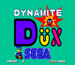 Dynamite Dux title screenshot