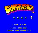 Dynablaster - Bomber Man title screenshot