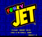 Funky Jet title screenshot