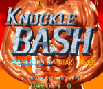 Knuckle Bash title screenshot