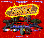 Kingdom Grandprix title screenshot