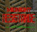 Midnight Resistance title screenshot