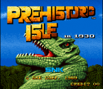 Prehistoric Isle in 1930 title screenshot