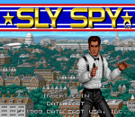 Sly Spy title screenshot