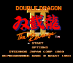 Double Dragon II - The Revenge title screenshot
