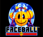 Faceball title screenshot