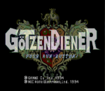 GoTzenDiener title screenshot