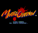 Martial Champion title screenshot