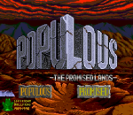 Populous - The Promised Lands title screenshot
