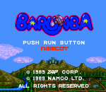 Barunba title screenshot