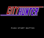 City Hunter title screenshot