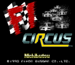 F1 Circus title screenshot